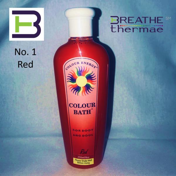 Colour Bath Red